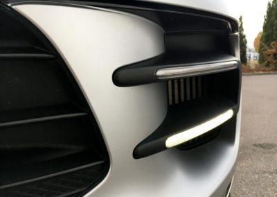 Carwrapping Porsche Macan Silber Matt Saarland - Geierdesign