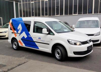 Fahrzeugbeschriftung / Werbetechnik von Geierdesign