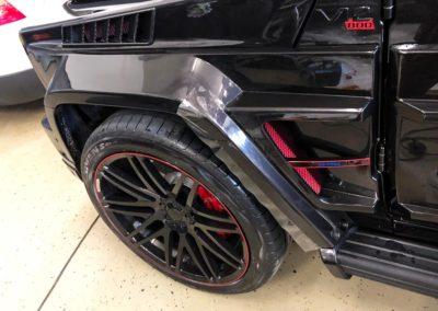 Lackschutzfolie Mercedes G800